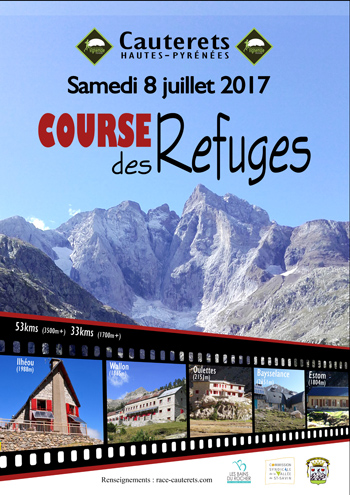 Affiche course des refuges